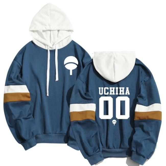 Spring Summer Anime Naruto Hoodies Men Women Cool Uchiha Hatake Uzumaki Clan Badge Streetwear Sudaderas Hoody Sweatshirt