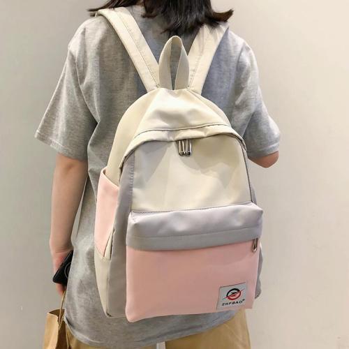 Student Female Waterproof Backpack Cute Women Harajuku School Bag Girl Kawaii Backpack Nylon Book Fashion Luxury Teenage Bag New