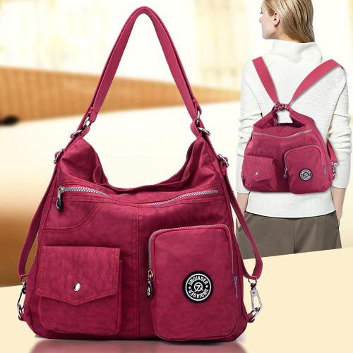 Outdoor Travel Backpack Bags For Women Multiple Pockets Ladies Bag Multifunction Anti Theft School Backpack For Girls