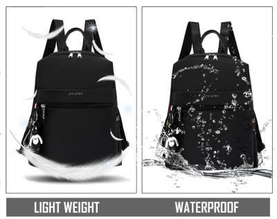 Wterproof Travel Backpack Bags For Women Large Capacity School Backpack For Girls Solid Ladies Bagpack Female Outdoor Bag