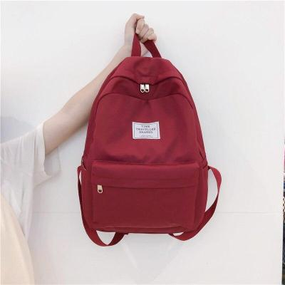 Student Female Fashion Backpack Cute Women School Bag Girl Waterproof Nylon Backpack Kawaii Ladies Luxury Bag Teenage Book Brand