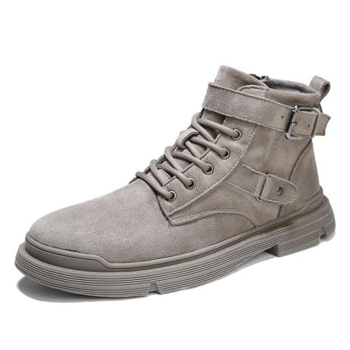 Autumn Winter Men's Boots Classic Fashion Genuine Leather Ankle Boots Men Cow Suede Winter Shoes Men 2020 Tooling shoes
