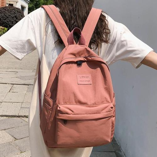 Student Female Fashion Backpack Cute Women School Bags For Girls Waterproof Nylon Kawaii Backpack Ladies Luxury Teenage Bag Book