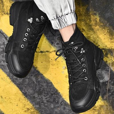 Winter Leather Ankle Boots Men Fashion Busines Casual Shoes For Men High Quality Men's Desert Boots Male Footwear Booties 2020