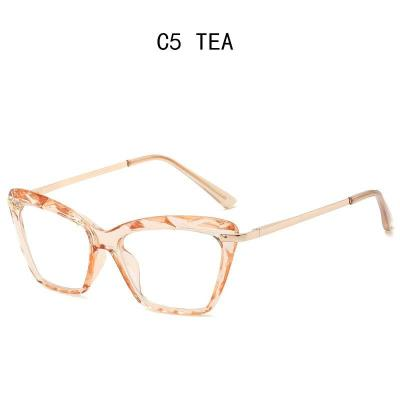 Fashion Square Glasses Frame Women Trending Styles Brand Design Optical Computer Glasses Oculos De Sol Eyewear 2020