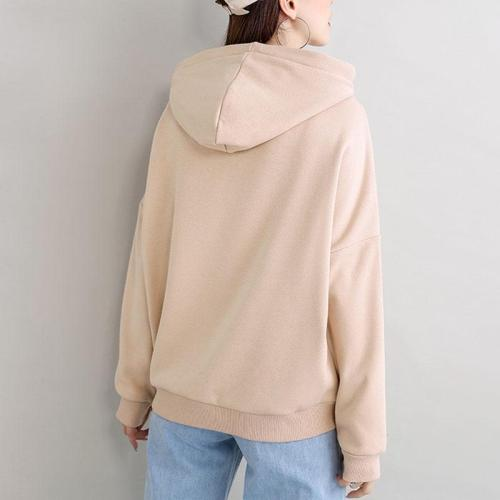2020 New Plus velvet Basic Hoodies For Women Leisure Female winter Solid Colour Casual SweatshirtHip Pop Tops