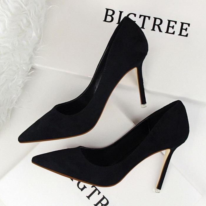 Women Pumps Fashion 9cm High Heels For Women Shoes Casual Pointed Toe Women Heels Chaussures Femme Stiletto Ladies G0084
