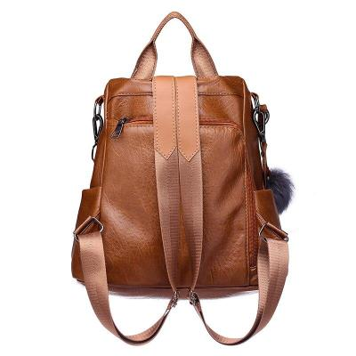 Women Leather Backpacks High Quality Mochilas Female Back Pack School Bags For Teenage Girls Large Capacity Ladies Bagpack New