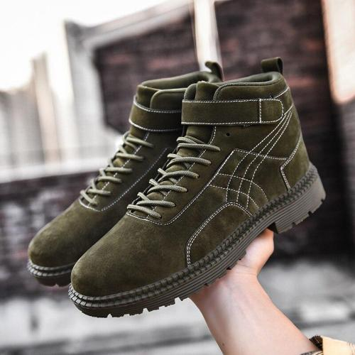 Super Warm Men Winter Boots For Men Warm Fur Waterproof Rain Boots Shoes Plush Men'S Ankle Snow Boot Botas Masculina