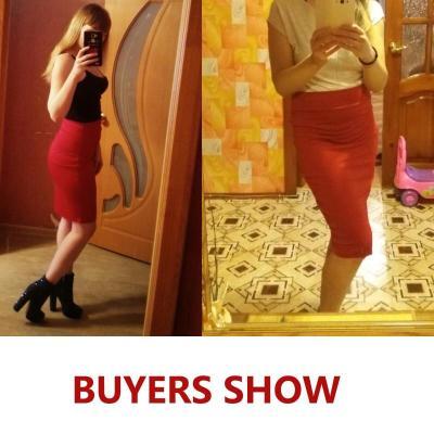 2020 New Women Skirt Mini Bodycon Skirt Office Women Slim Knee Length High Waist Stretch Sexy Pencil Skirts Jupe Femme AQ801944