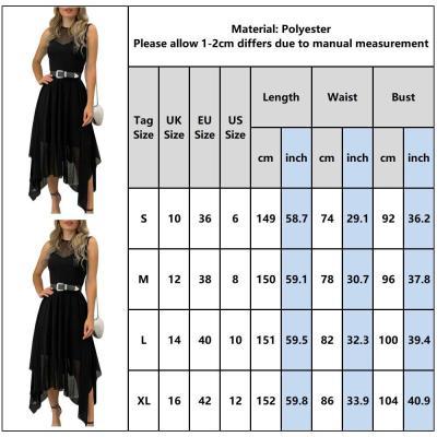 Ruffled Dress Women Summer Sundress Fashion Office Work Wear Ladies Dress Solid Black Mesh Female Midi Ol Business Dress D30