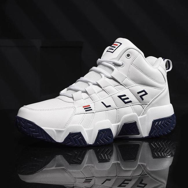 Rich Wrold  Basketball Shoes Men High-top Sports Air Cushion Jordan Hombre Athletic Mens Shoes Comfortable Breathable Sneakers