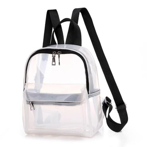 2020 Women Pvc Transparent Backpacks For Girls Sac A Dos Female Back Pack School Bags For Girls Mochilas Casual Daypack Backpack