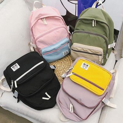 Fashion Waterproof Nylon Backpack Cute Women School Bags For Teenage Girl Kawaii Backpacks Harajuku Female Bag Luxury New Ladies