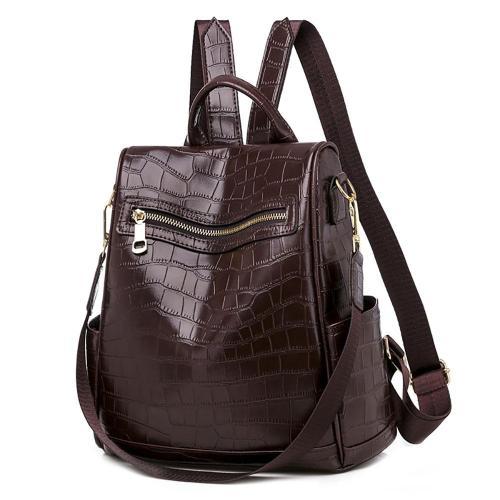 PU Leather Backpack Women Multifunction Travel Bags School Backpack For Teenage Girls Outdoor Ladies Women's Bagpack