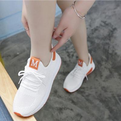 Lightweight Comfortable Lace-up Women's Shoes New Fashion Mesh Women's Vulcanize Shoes Casual Sneakers Zapatos Mujer VT657