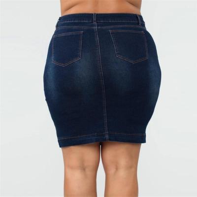 Denim Skirt Plus Size 3XL 4XL 5XL XXXL XXXXL XXXXXL Oversized Big Jeans Casual Mini Skirts Womens Summer 2020 Rokjes Dames Jupe
