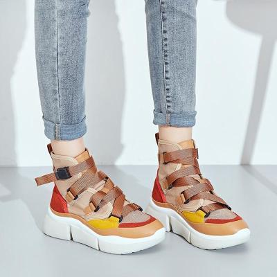 Summer Autumn Women Shoes Hidden Wedge Heels Fashion Casual Women's Elevator Canvas Shoes Denim For Women Heighten Shoes Mujer