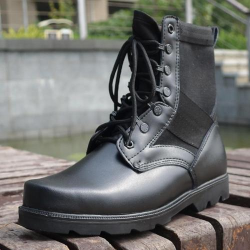 UPUPER Tactical Military Boots Men Comfort Lace Up Special Force Desert Army Boots Waterproof Winter Safety Work Boots Men Shoes