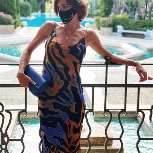 Julissa Mo Sexy Off Shoulder Print Summer Long Dress Women Backless Bandage Beach Dresses Female Casual Party Boho Vestidos 2020