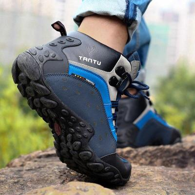 Fashion Men Winter Snow Boots Keep Warm Boots Plush Ankle Boot Snow Work Shoes Casual Men's Snow Boots Size 39-46