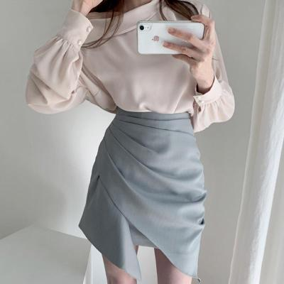 Striped Ruched Mini Skirts Summer High Waist Pleated Skirt Beach Warp Skirts Design Korean Vintage Slim Fit Sexy Pencil Skirts