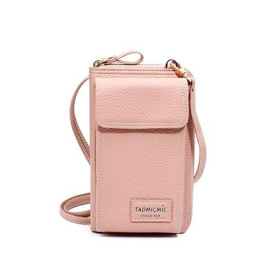 women bag Women Cell Phone Bag Ladies Large Capacity Mobile Wallet Female Zipper Shoulder Crossbody Bag Phone Bag Coin Purse Ms