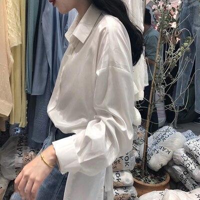 New fashion Open Back Sexy Blouse Women 2020 Fashion Summer Korean Tie Back Ladies Shirts And Blouses mori girl Chic Blusas
