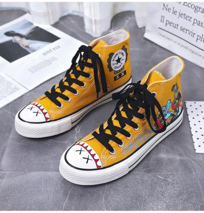 Promotion Spring Autumn New Women Canvas Shoes Leopard  Fashion Sneakers Low-cut Shoes Woman High Quality Classic Skateboarding