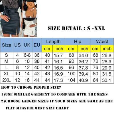 New arrival 2020 Fashion Sexy High waist PU leather Women Skirts Sashes Zipper Pencil Mini skirt Autumn Winter White Black skirt