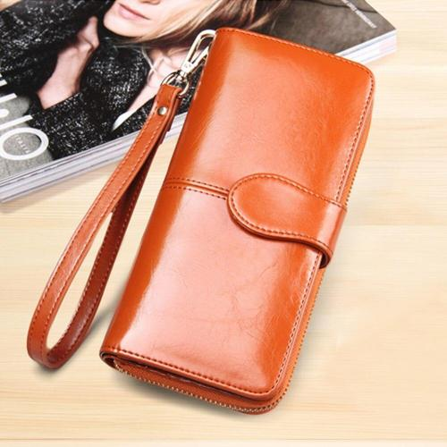 long wallet for women brands purse money bag new designer high-capacity card holder coin bag female