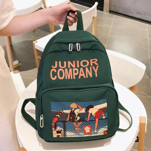 Cute waterproof backpack women school bags for teenage girls lady kawaii nylon print backpack luxury harajuku female student bag