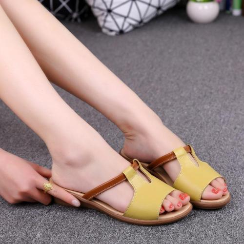 Women sandals 2020 fashion sandals women shoes open toe casual wedge shoes woman new beach flats sandals zapatos mujer