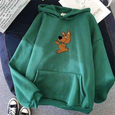 Winter Women's Hoodies Full Sleeve Hoodie Cute Dog Print Sweatshirt  Kawaii Hoodies Women Hoody Female Itself Sudaderas Mujer