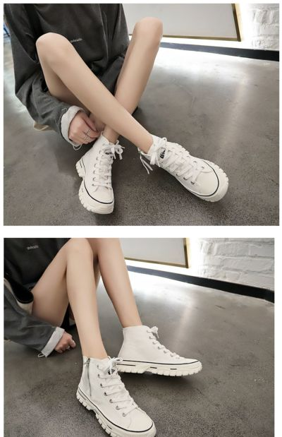 Women's vulcanized shoes canvas sneakers color women casual shoes comfortable breathable flats shoes woman U12-32