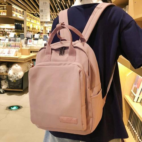 Fashion cute backpack tote women school bags for teenage girl kawaii nylon backpack lady luxury female bag Student book harajuku