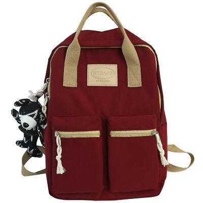 Lady Nylon Cute Backpack Waterproof Women School Bag Teenage Girl Harajuku Backpack Kawaii Female Fashion Bag Luxury Book Travel