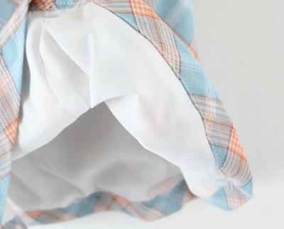 Foridol plaid slit skirt women high waist checkered cara split mini skirt chic streetwear blue skirt bottoms faldas mujer autumn