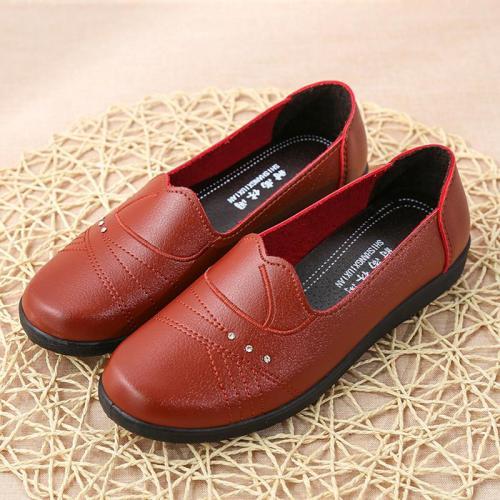 2020 New Women Flat Shoes Slip On Loafers Spring Autumn Women Flats Ballet Casual Sturdy Sole Nonslip Female Office Footwear