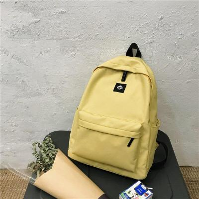 Fashion Cotton Fabric Backpack Cute Women Kawaii School Bags Student Girl Backpack Laptop Harajuku Female Luxury Bag Book Ladies
