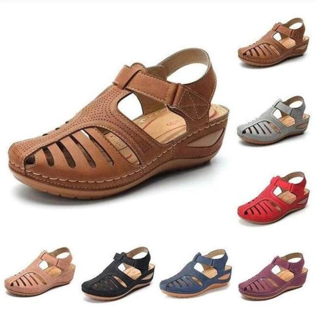 2020 hotWomen Sandals   Summer Shoes Woman Soft Bottom Wedges Shoes for Women Platform Sandals Heels Gladiator Sandalias