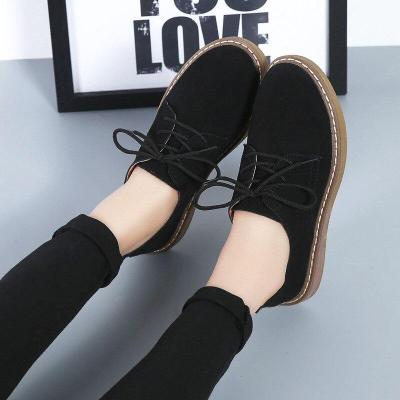 Breathable flats loafers casual lace-up shoes woman outdoor women shoes 2019 new  fashion sneakers women zapatos de mujer