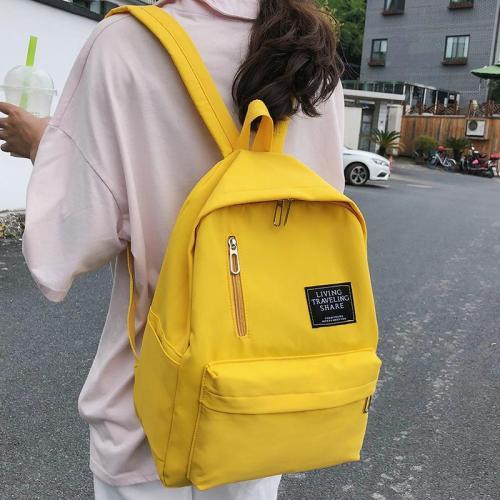 Fashion women Cute backpacks teenage girl school bag Applique waterproof backpack harajuku female Nylon Student book casual 2019