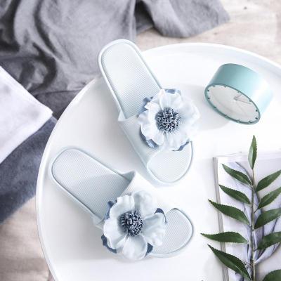 Women Summer Slipper Ladies Flip Flops Fashion Flower Breathable Non Slip Shoes Woman Slides Flats Colorful Casual Female 2020