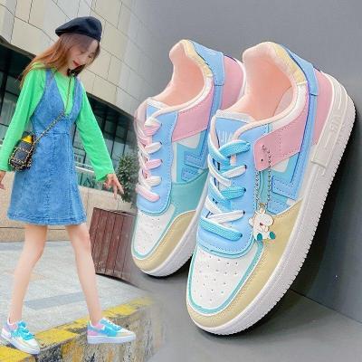Women's Casual Shoes  Trend Student Board Shoes Women Fashion Sneakers Comfortable Low Shoes Women Vulcanize Shoes Popular Shoes