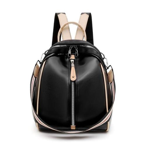 Candy Color Female Ladies Backpack Anti Theft PU Leather Travel Backpack Bags For Women Mini School Bags For Teenage Girls