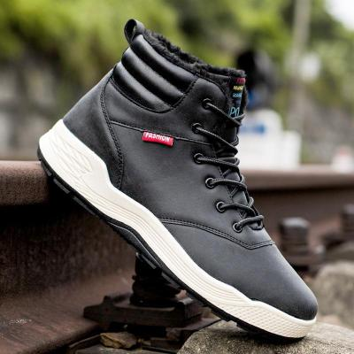UPUPER Fashion Winter Men's Shoes Warm Waterproof Shoes Winter Sneakers For Men Boots Footwear Work Boots zapatos de hombre