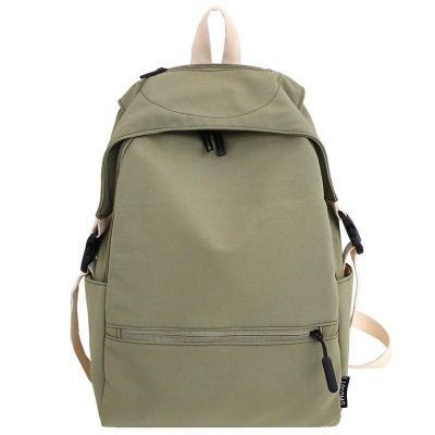 Cute Female Student backpack Fashion women school bags for teenage girls Buckle nylon kawaii backpack waterproof ladies book bag