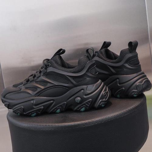 2020 Autumn Woman Chunky Sneakers Ulzzang Designers Platform Casual Shoes Fashion Women Mesh Vulcanized Shoes Basket Female 5cm