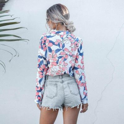 Womens Tops and Blouses For Women 2020 Spring Summer New Arrivals Long Sleeve Print Shirt Ladies Casual Blouse Pink Yellow